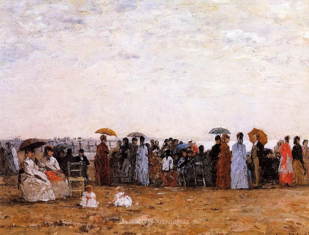 法国最早印象派画家欧仁·布丹,曾教莫奈写生!插图163