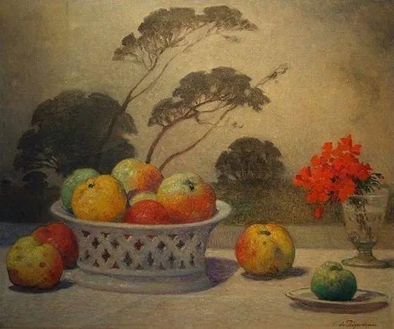 高更和德加的好友,法国画家费迪南德插图31