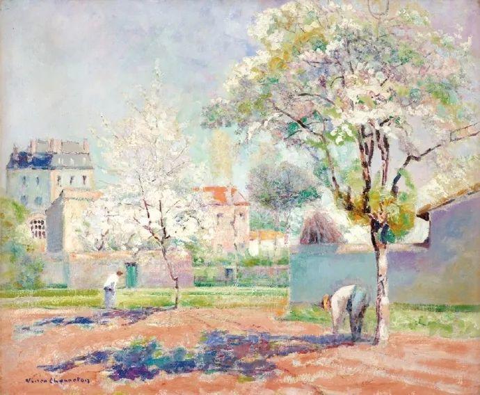 从律师到画家,法国后印象派画家维克多·查雷顿插图83