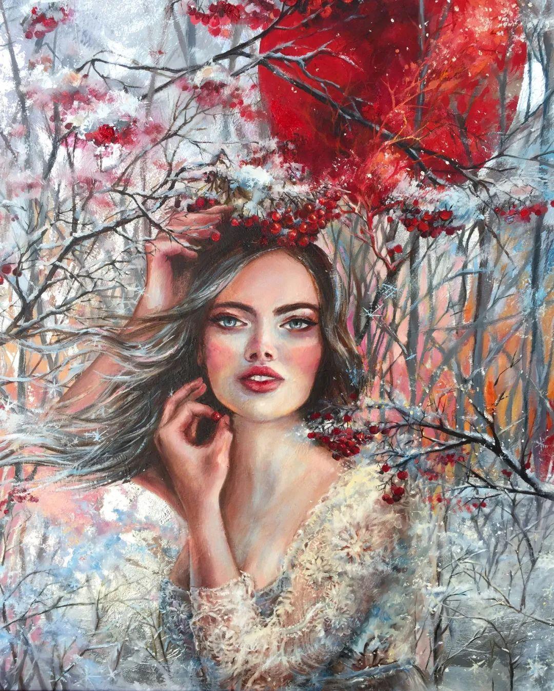 艺术家安娜的精美油画艺术作品欣赏插图31
