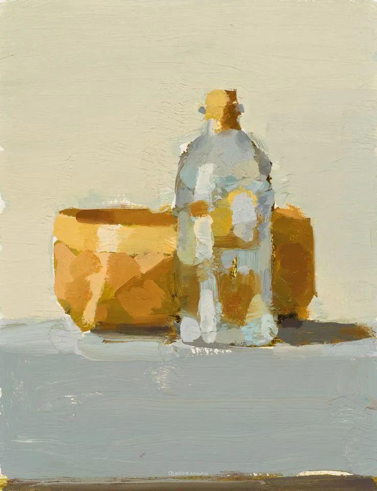 简约宁静 | 波兰画家斯坦利·比伦作品欣赏插图31