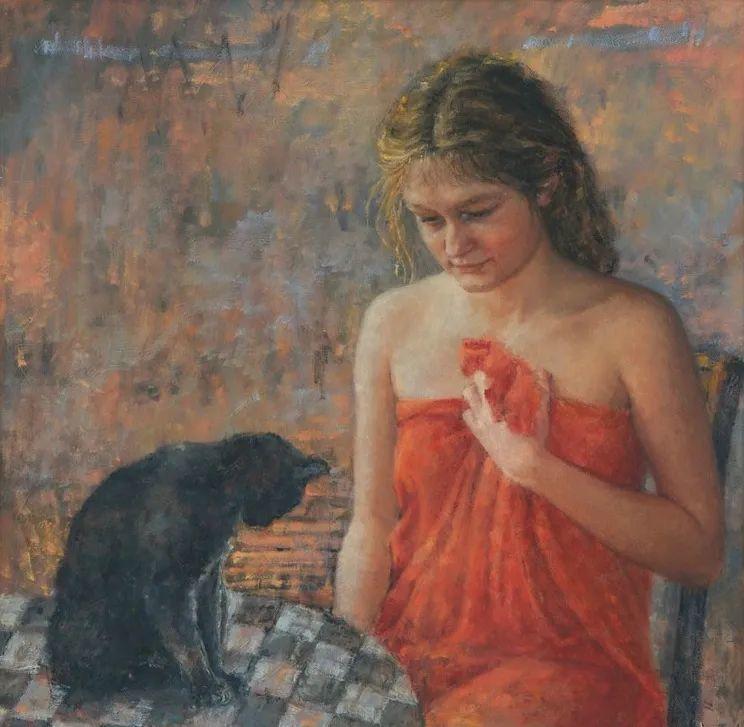 具象现实主义,波兰女画家阿丽娜·西贝拉插图49