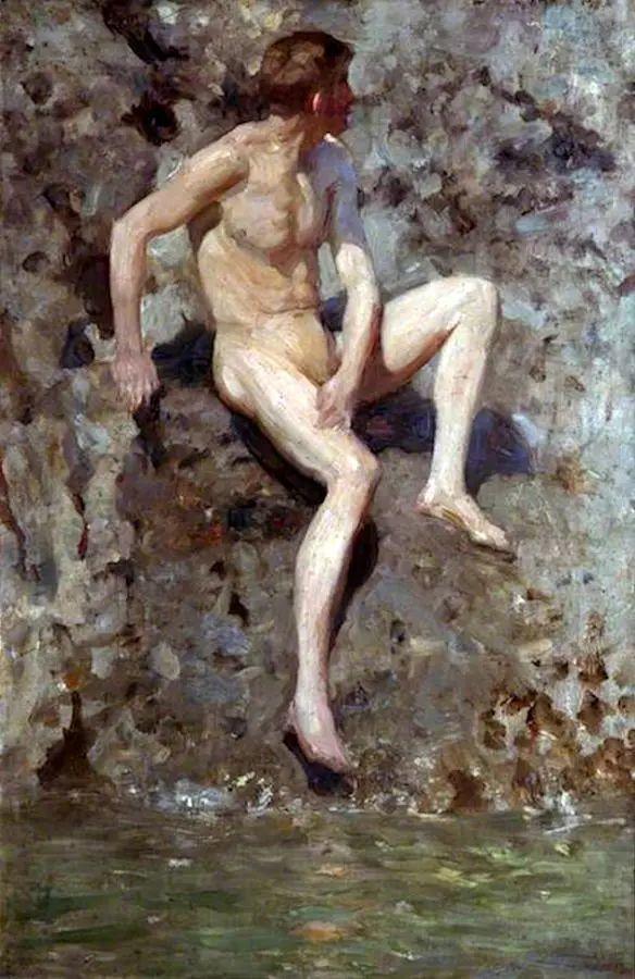 沉迷于人物的画家Henry Scott Tuke插图12