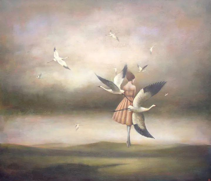 越南画家杜伊·怀恩的空灵绘画插图53