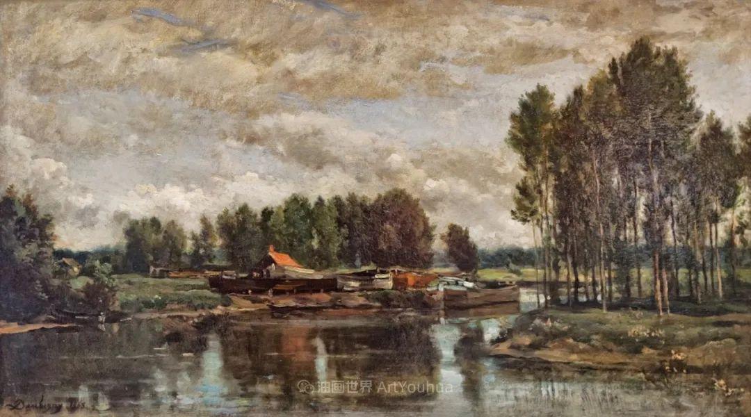 法国著名巴比松派风景画家——杜比尼插图153