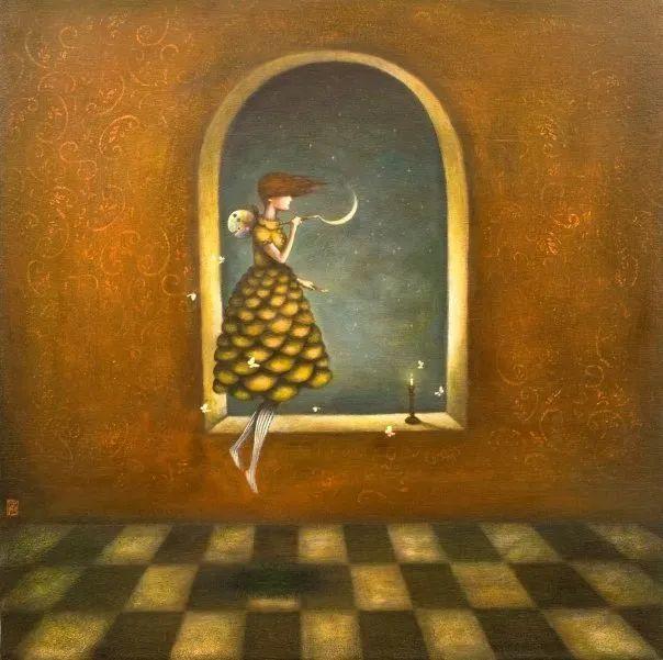 越南画家杜伊·怀恩的空灵绘画插图113