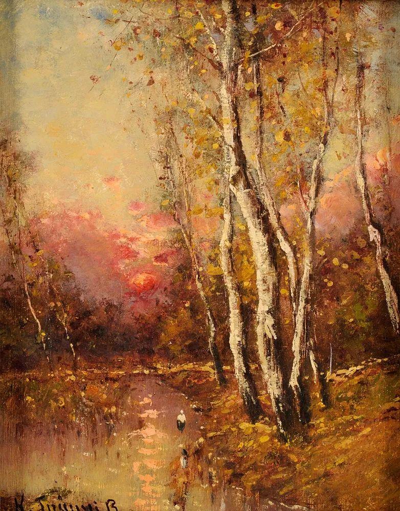 匈牙利杰出的自然风景画家——贝拉·斯潘依插图19