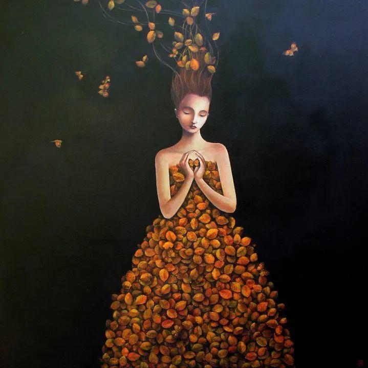 越南画家杜伊·怀恩的空灵绘画插图23