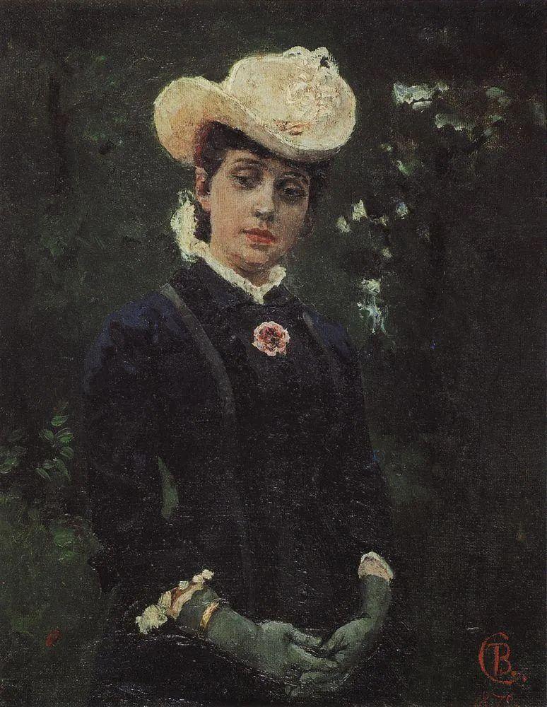 俄罗斯画坛先驱人物,瓦西里·苏里科夫人物作品选粹插图18