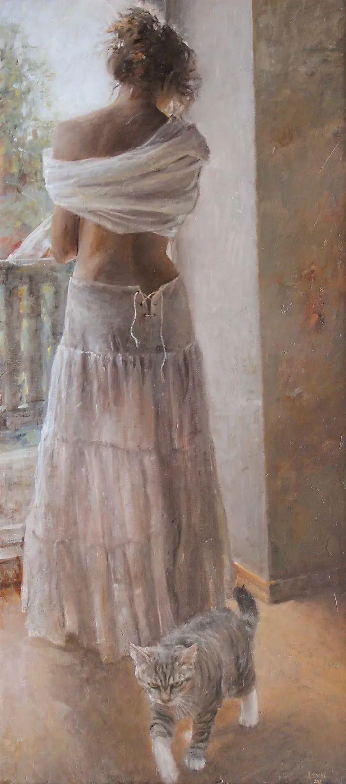 具象现实主义,波兰女画家阿丽娜·西贝拉插图63
