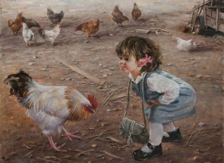 具象现实主义,波兰女画家阿丽娜·西贝拉插图71
