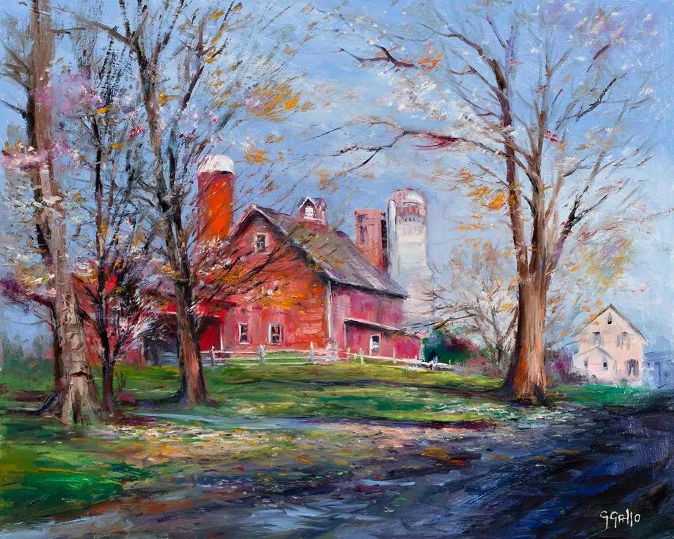 风景油画丨美国艺术家乔治·加洛的风景油画作品插图5