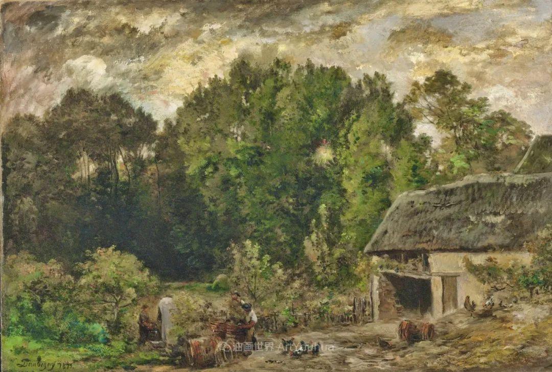 法国著名巴比松派风景画家——杜比尼插图149