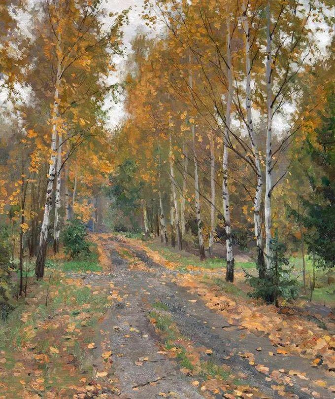 """岁月静好,俄罗斯"""" 小希施金 """" 的自然风景油画,美极了!插图111"""
