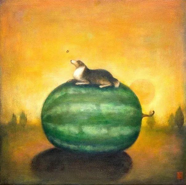越南画家杜伊·怀恩的空灵绘画插图91