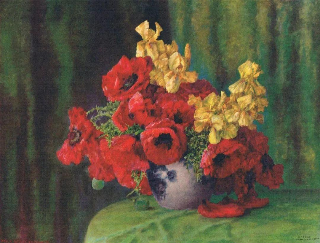 学医的他,37岁才开始自学绘画,笔下五颜六色的花束,太美了!插图65