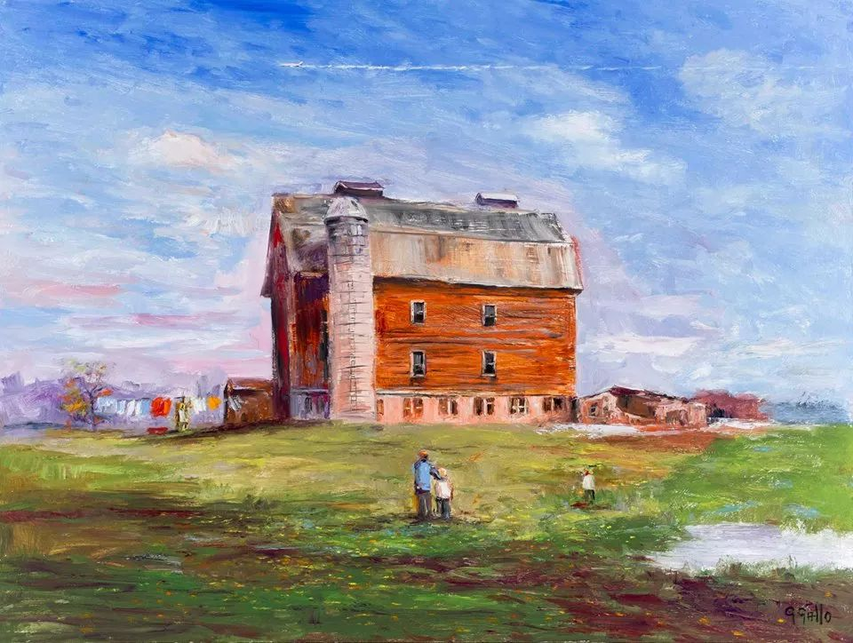 风景油画丨美国艺术家乔治·加洛的风景油画作品插图19