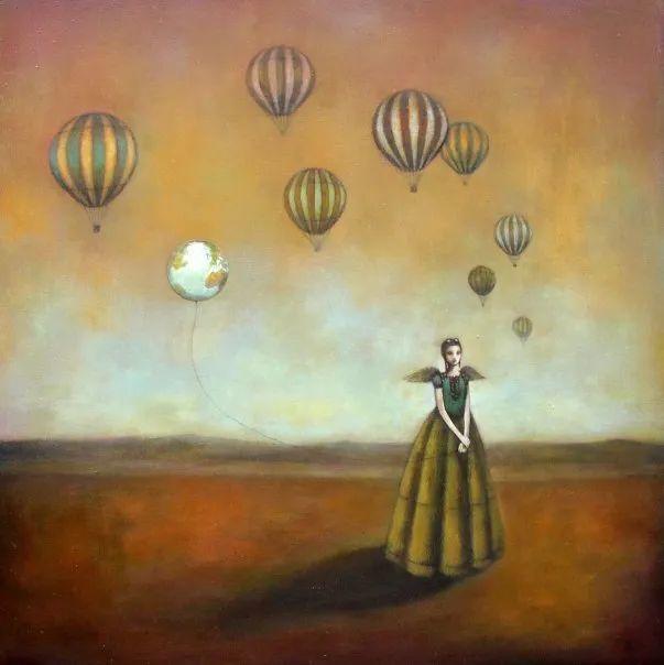 越南画家杜伊·怀恩的空灵绘画插图41
