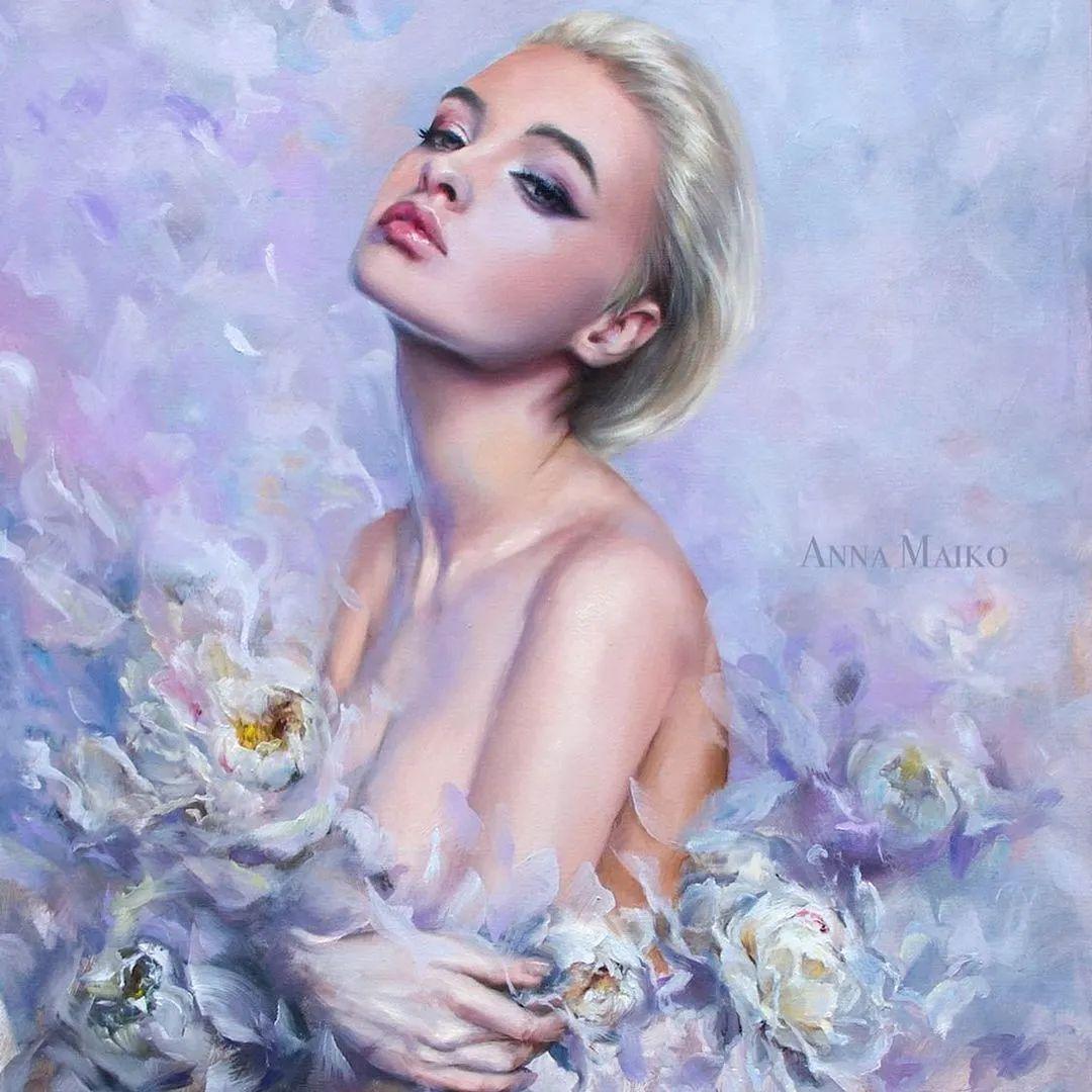 艺术家安娜的精美油画艺术作品欣赏插图7