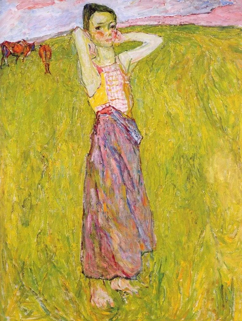 浓烈、明亮、斑斓、恣肆的色彩,这油画美极了插图103