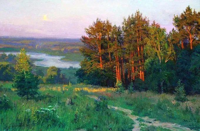 """岁月静好,俄罗斯"""" 小希施金 """" 的自然风景油画,美极了!插图1"""