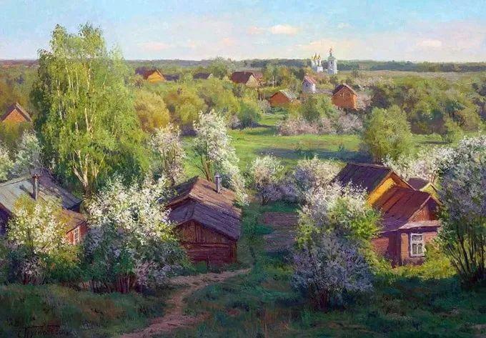 """岁月静好,俄罗斯"""" 小希施金 """" 的自然风景油画,美极了!插图29"""