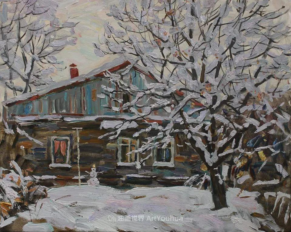 古典风格蛋彩画,俄罗斯画家弗拉基米尔·亚历山德罗维奇插图87