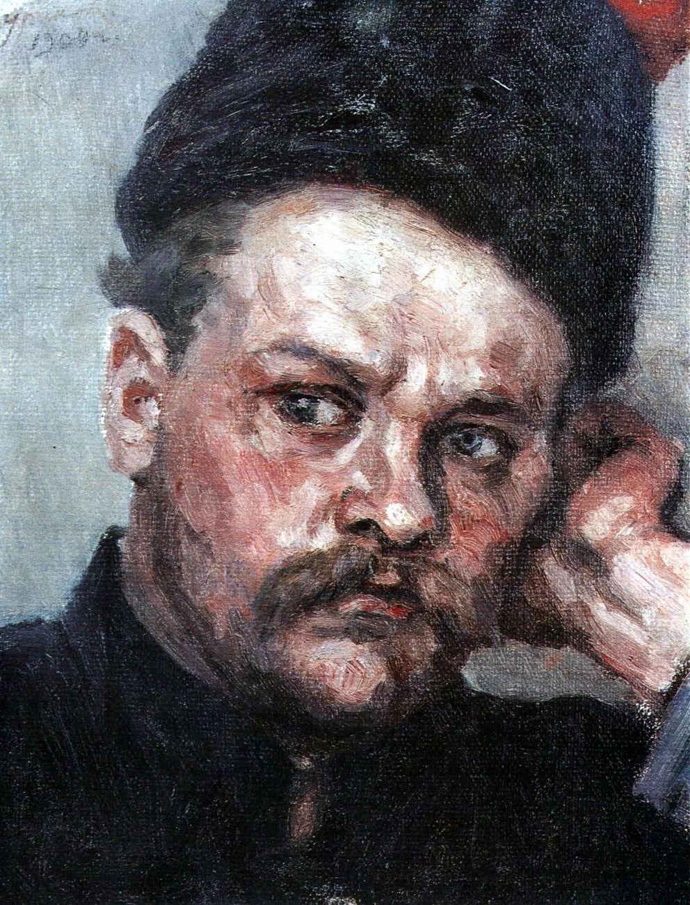 俄罗斯画坛先驱人物,瓦西里·苏里科夫人物作品选粹插图65