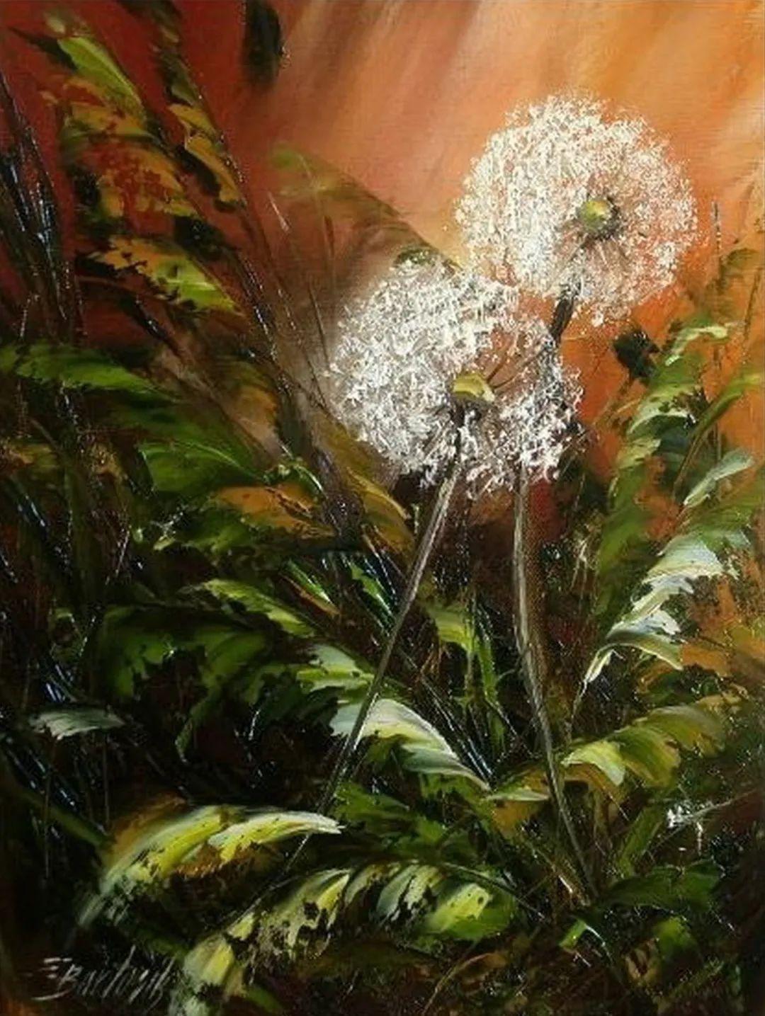 自学油画,她用真情描绘着周围的世界之美插图79