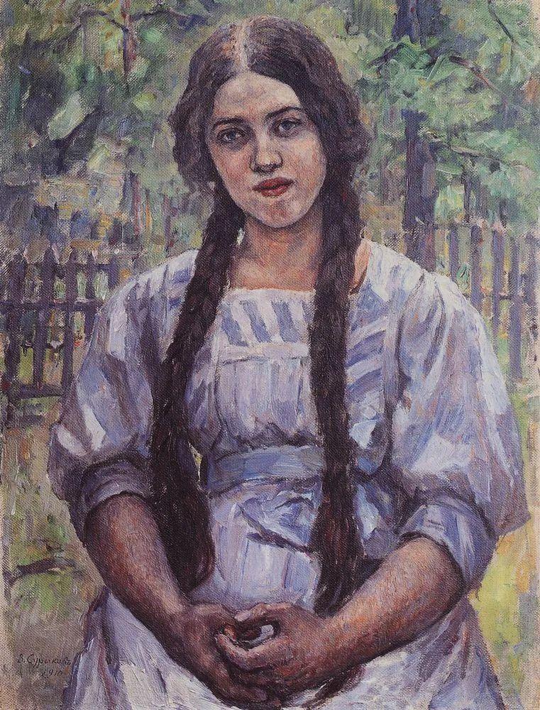 俄罗斯画坛先驱人物,瓦西里·苏里科夫人物作品选粹插图1