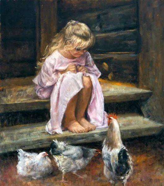 具象现实主义,波兰女画家阿丽娜·西贝拉插图85