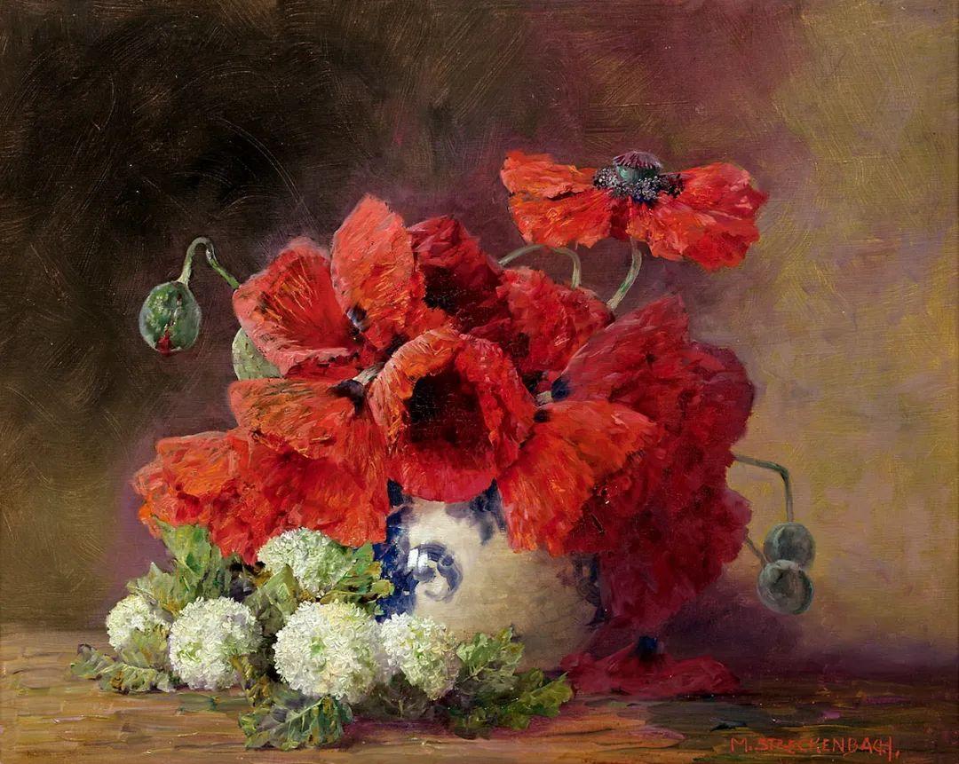学医的他,37岁才开始自学绘画,笔下五颜六色的花束,太美了!插图21