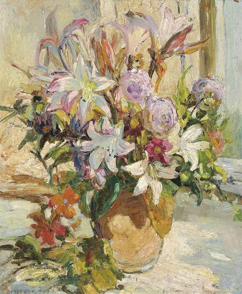 充满着写意风格的绘画,20世纪英国最伟大的女画家之一夏普插图1
