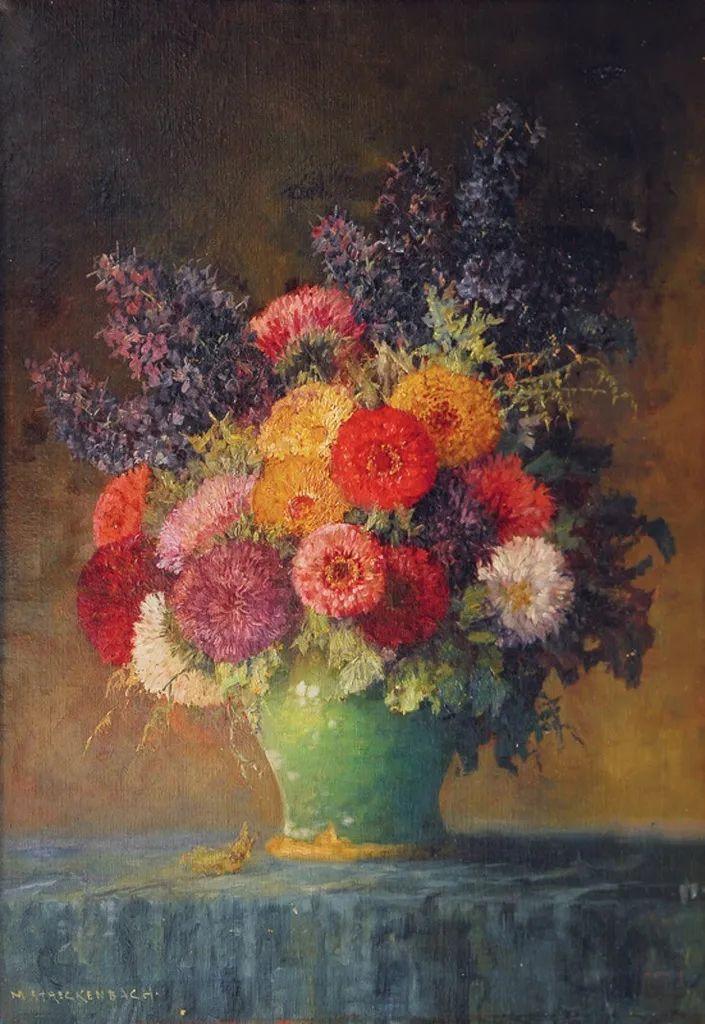 学医的他,37岁才开始自学绘画,笔下五颜六色的花束,太美了!插图15