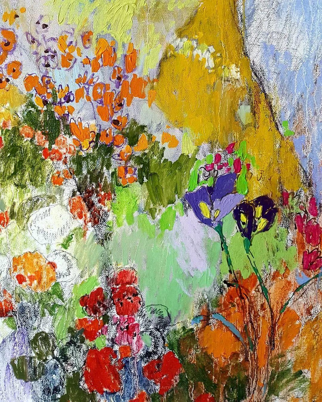她的油画作品色彩丰富,充满爱意插图25