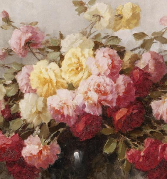 学医的他,37岁才开始自学绘画,笔下五颜六色的花束,太美了!插图51