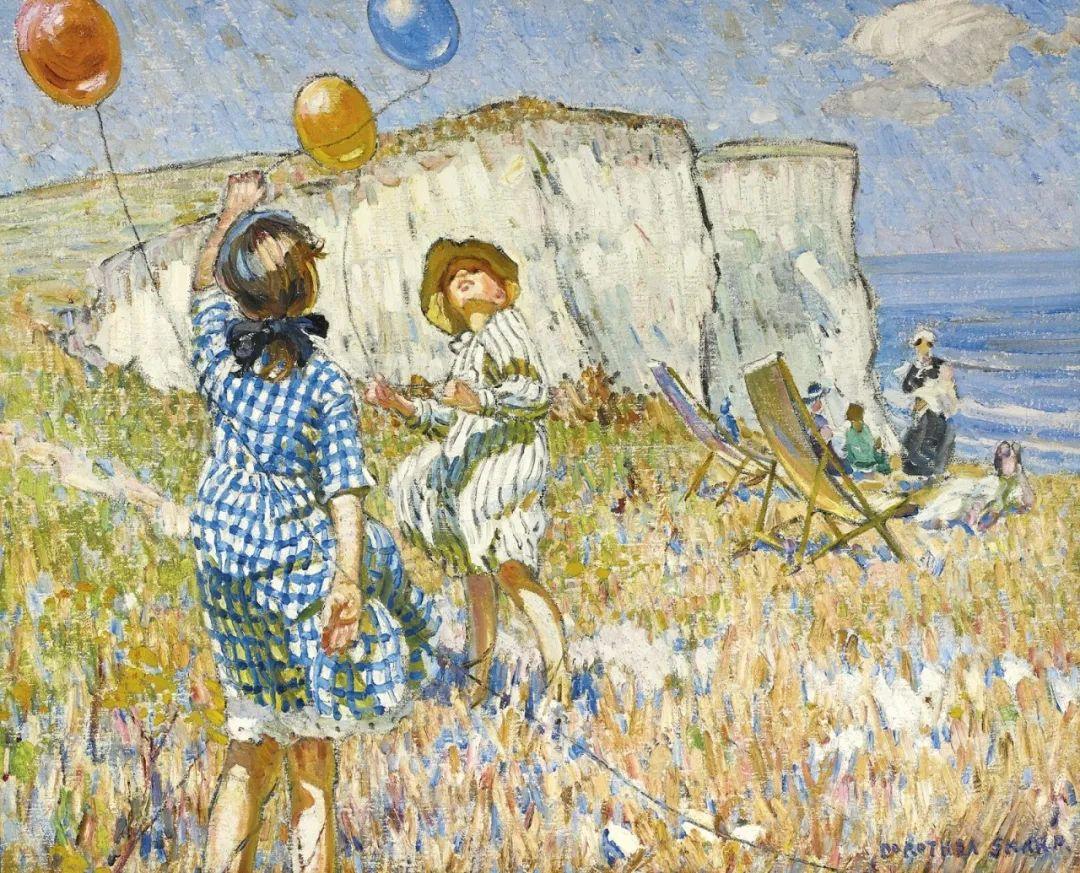 充满着写意风格的绘画,20世纪英国最伟大的女画家之一夏普插图67