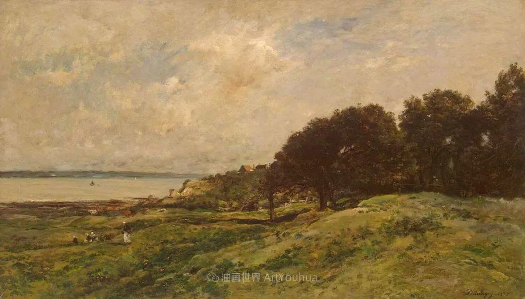 法国著名巴比松派风景画家——杜比尼插图115
