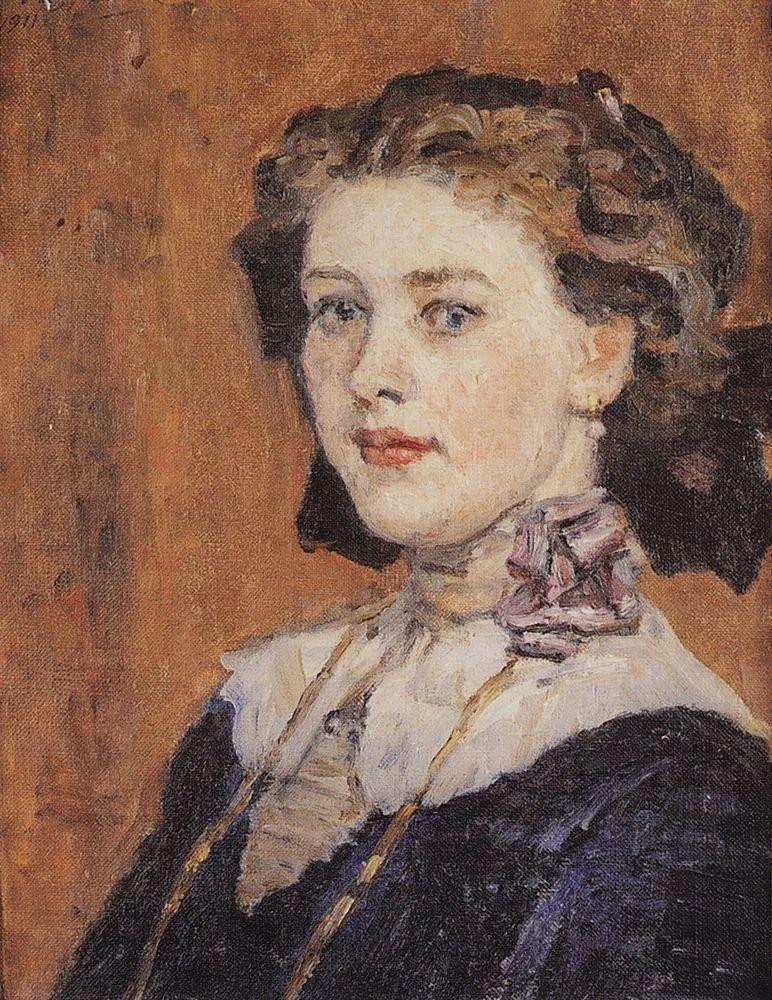 俄罗斯画坛先驱人物,瓦西里·苏里科夫人物作品选粹插图16