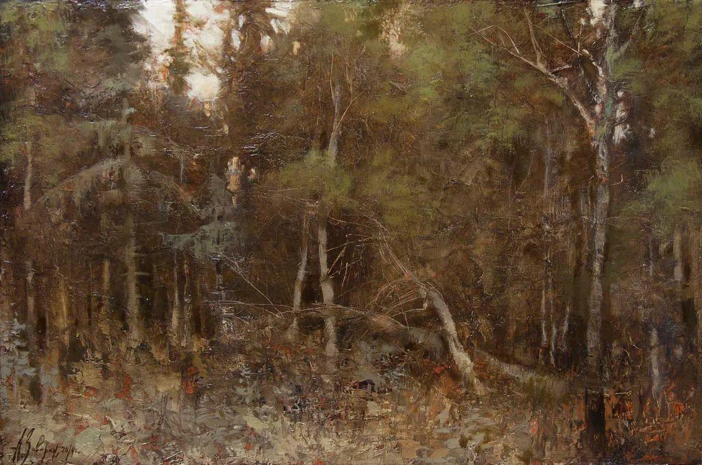 笔触率性,优雅朦胧的风景油画,迷人!插图103