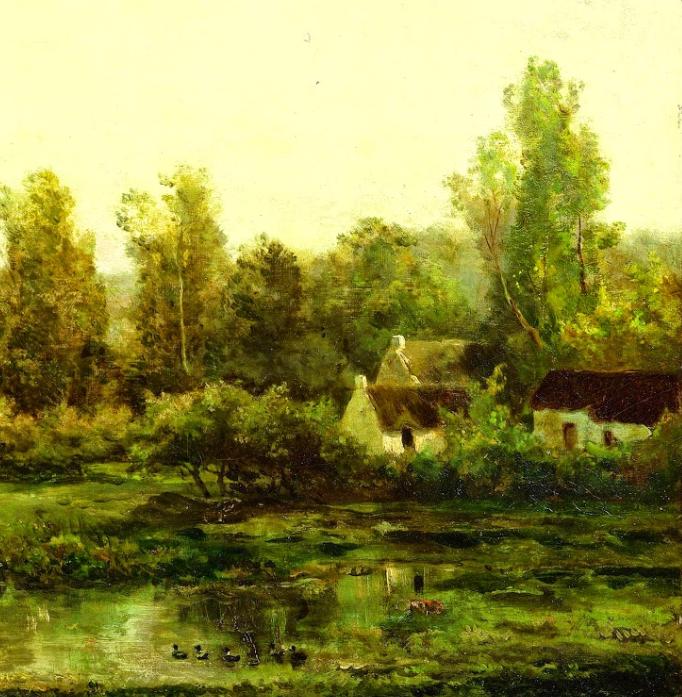 法国著名巴比松派风景画家——杜比尼插图23