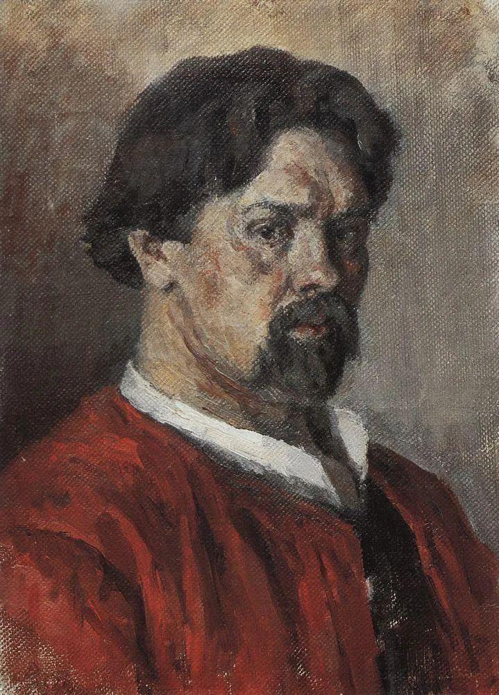 俄罗斯画坛先驱人物,瓦西里·苏里科夫人物作品选粹插图54