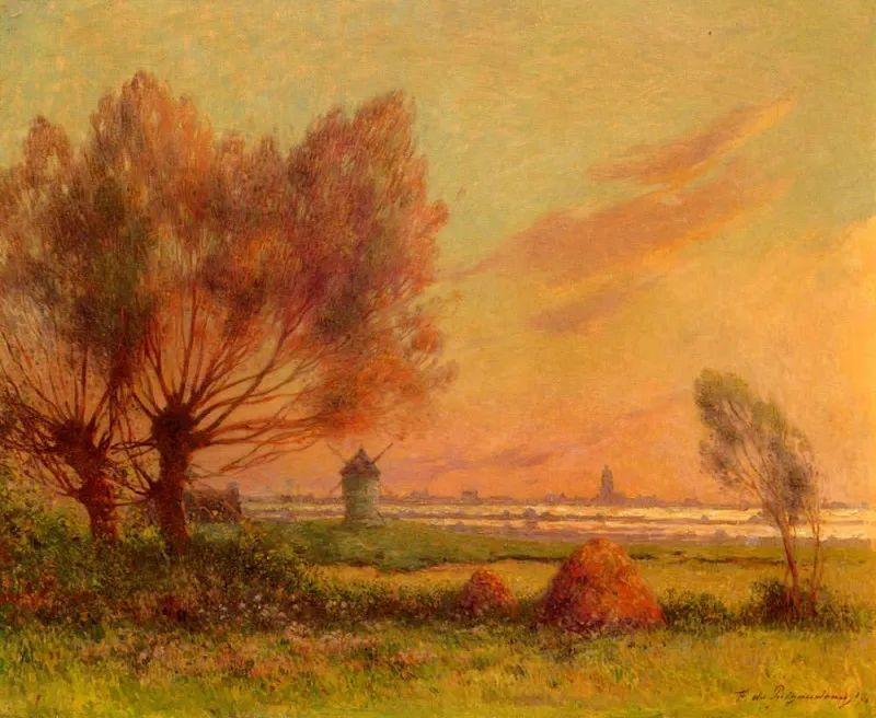 高更和德加的好友,法国画家费迪南德插图16