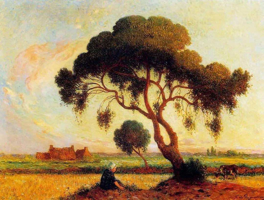 高更和德加的好友,法国画家费迪南德插图