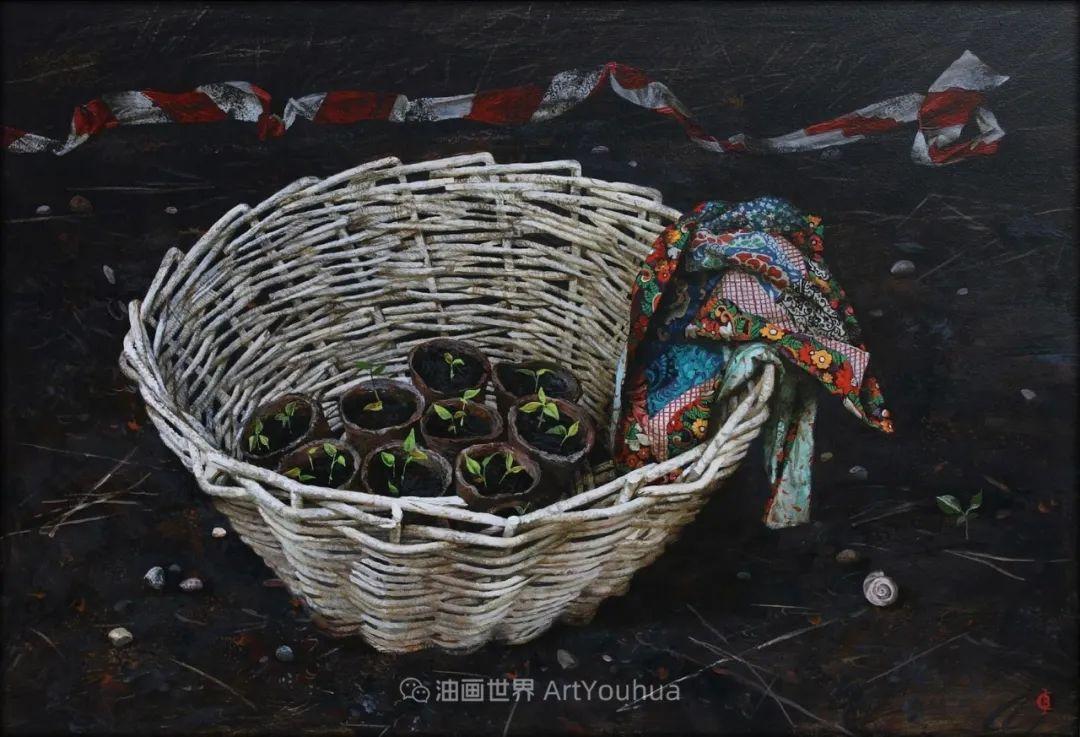 古典风格蛋彩画,俄罗斯画家弗拉基米尔·亚历山德罗维奇插图33