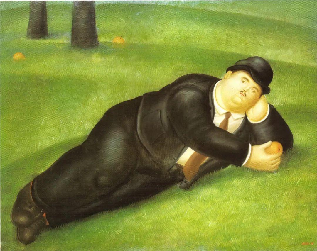 诙谐幽默的圆润形态 | 费尔南多·波特罗插图26