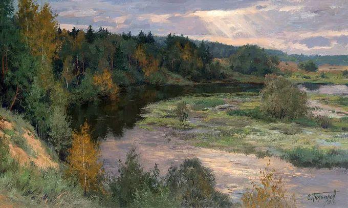 """岁月静好,俄罗斯"""" 小希施金 """" 的自然风景油画,美极了!插图107"""