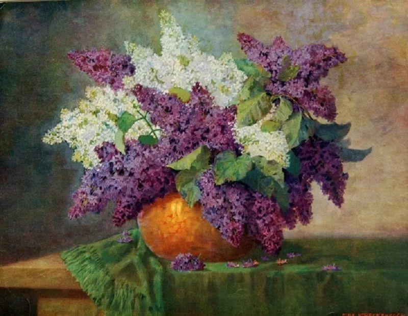 学医的他,37岁才开始自学绘画,笔下五颜六色的花束,太美了!插图9