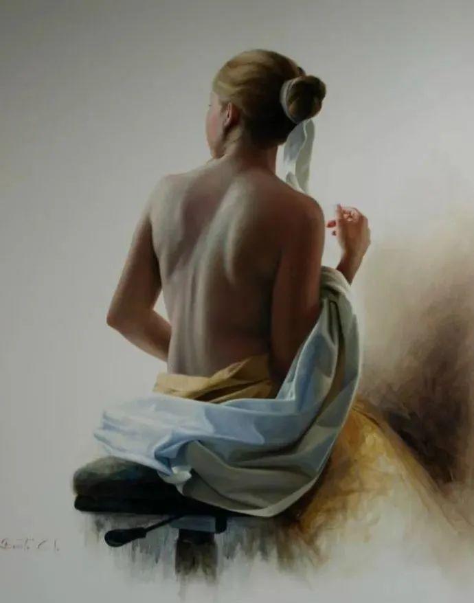秘鲁自学成才艺术家的写实油画,展现着油画人物不同的美插图31