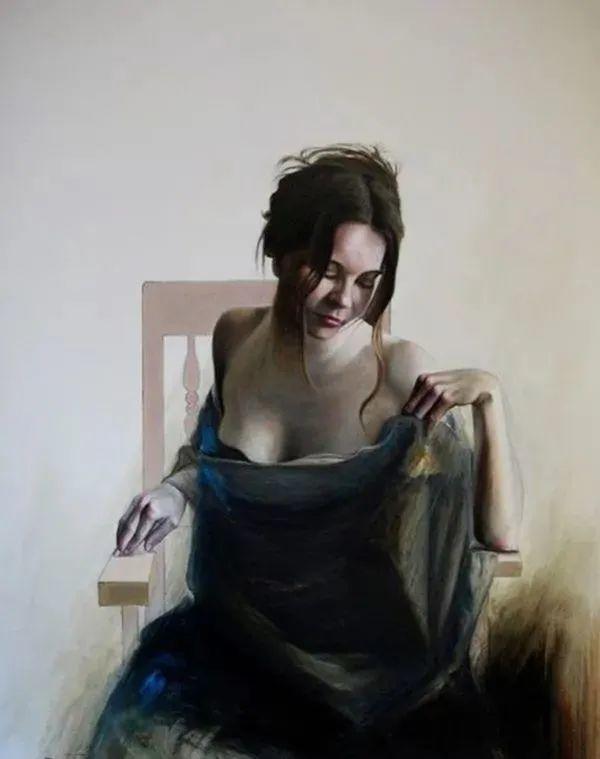 秘鲁自学成才艺术家的写实油画,展现着油画人物不同的美插图71